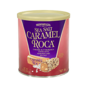 Brown&Haley Canister Sea Salt Caramel Roca