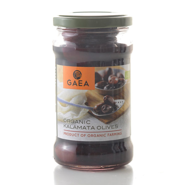Gaea Organic Kalamat Olives 300G