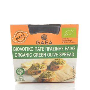 Gaea Organic Green Olive Spread 100G