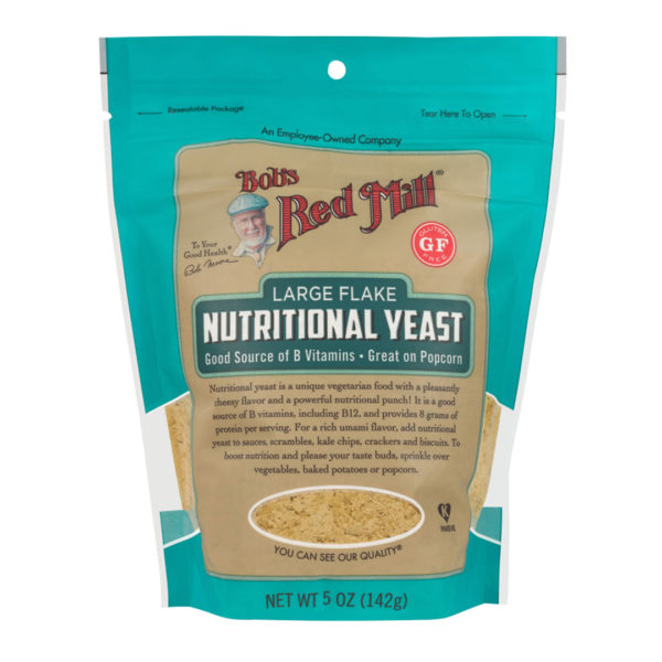 BRM GF Large Flake Nutritional Yeast 5 OZ