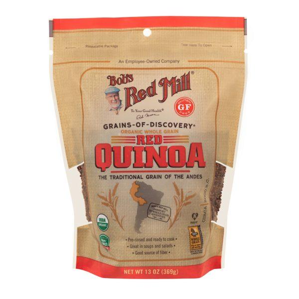BRM Organic Red Quinoa Grain 13Oz