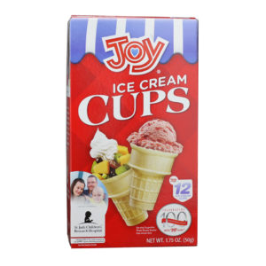 Joy Cone Ice Cream Cups 1.75 Oz