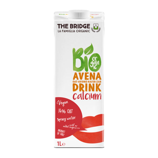 Bio Bridge Organic Oats Drink Calcium 1L