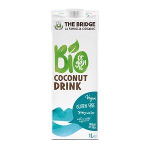Bio Bridge Organic Gf Coconut Drink 1 L