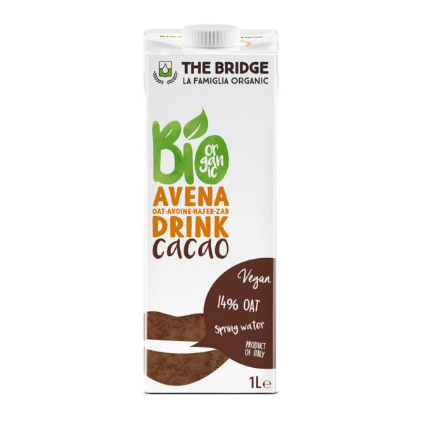 Bio Bridge Organic Oats Drink With Cacao