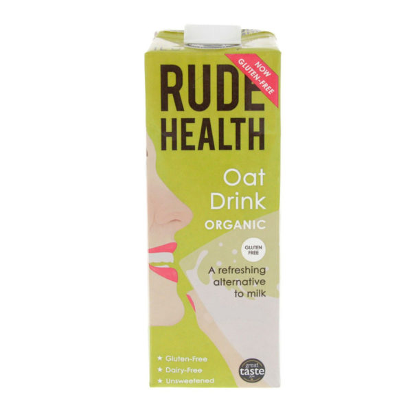 Rude Health Gf Organic Oat Drink 1L