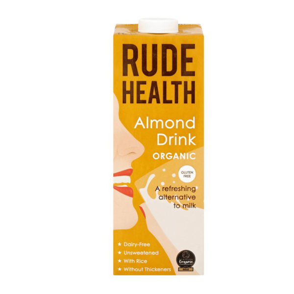 Rude Health Gf Organic Almond Drink 1L