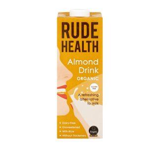 Rude Health Gf Organic Almond Drink 1L