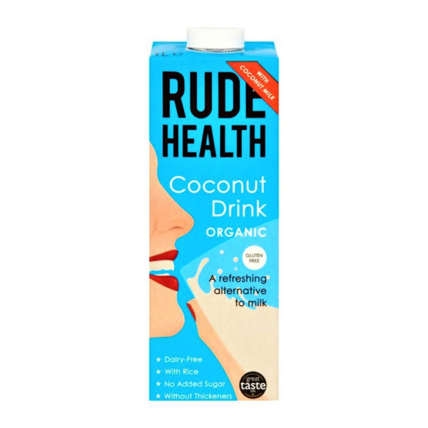Rude Health Gf Organic Coconut Drink 1L