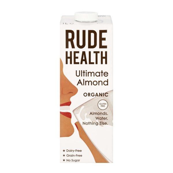 Rude Health Gf Organic Ultimate Almond Drink 1L