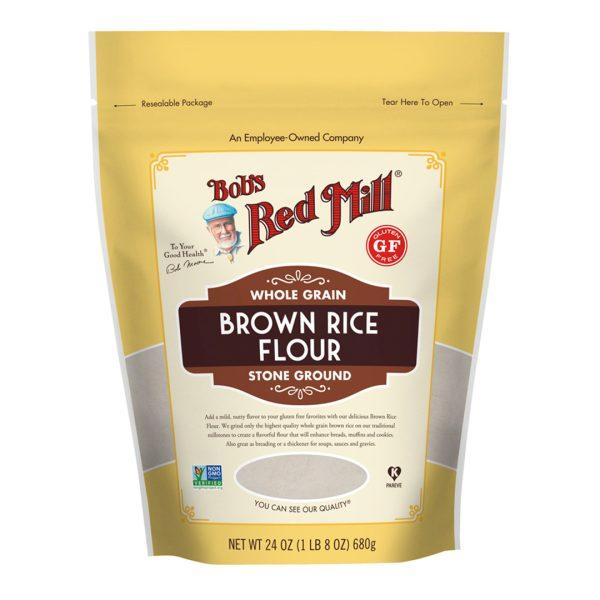 Gf Brown Rice Flour 24 Oz