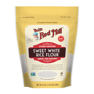 BRM GF Sweet White Rice Flour 24 OZ
