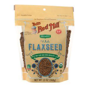 Organic Gf Brown Flaxseed 13 Oz