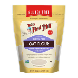 BRM GF Oat Flour Whole Grain 18 OZ