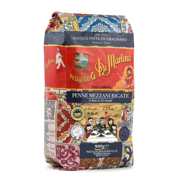 Pasta Di Martino Dolce Gabbana Pasta Penne Mezz 500g