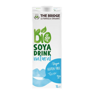 Bio Bridge Organic Gf Soya Drink Natural 1L