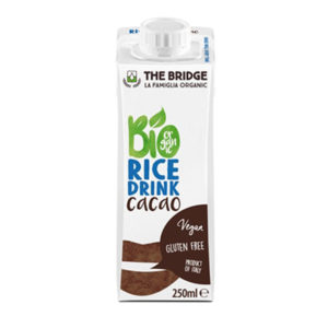 Bio Bridge Organic Gf Rice Drink With Cacao 250 Ml