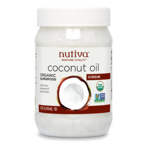 Nutiva Organic Virgin Coconut Oil 15 OZS