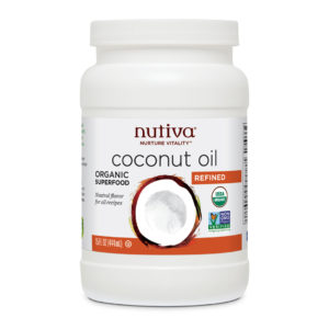 Nutiva Organic Refined Coconut Oil 15 OZS