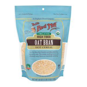BRM Organic Oat Bran Cereal 18 OZS