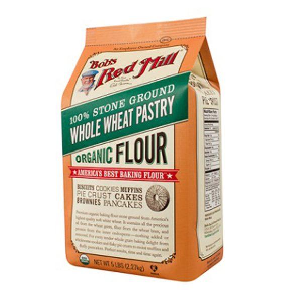 BRM Organic Whole Wheat Pastry Flour 5LB