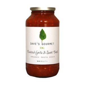 Organic Roasted Garlic & Sweet Basil