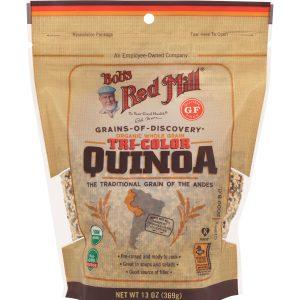BRM Organic Tricolor Quinoa Grain 13 Oz