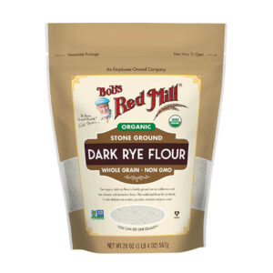 BRM Organic Dark Rye Flour 20 Oz