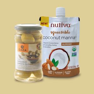 Oil,Olive Oil, vinegar and Olive