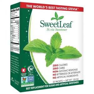 Sweet Leaf Stevia Normal Sweetener 35 Ct 1.25oz