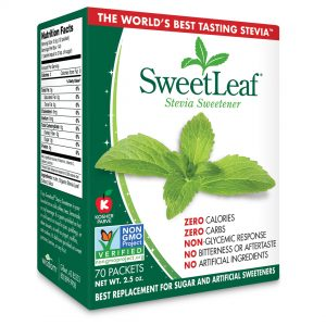 Sweet Leaf Stevia Normal Sweetener 70 Ct 2.5oz