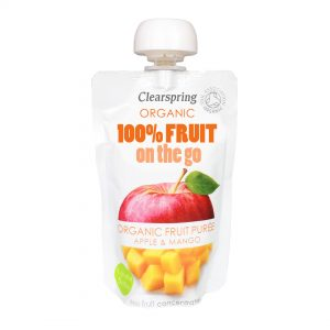 Clear Spring Organic 100% Fruit on the Go – Apple & Mango 120g