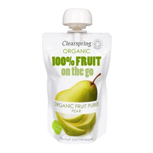 Clear Spring Organic 100% Fruit on the Go – Pear 120g