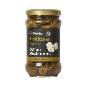 Clear Spring Organic Button Mushrooms 280g