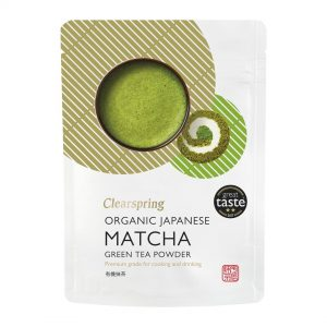 Clear Spring Organic Japanese Matcha Green Tea Powder (Premium Grade) 40g