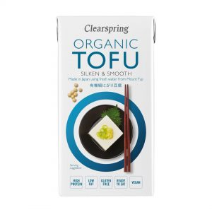 Clear Spring Organic GF Japanese Tofu – Soya Bean Curd 300g