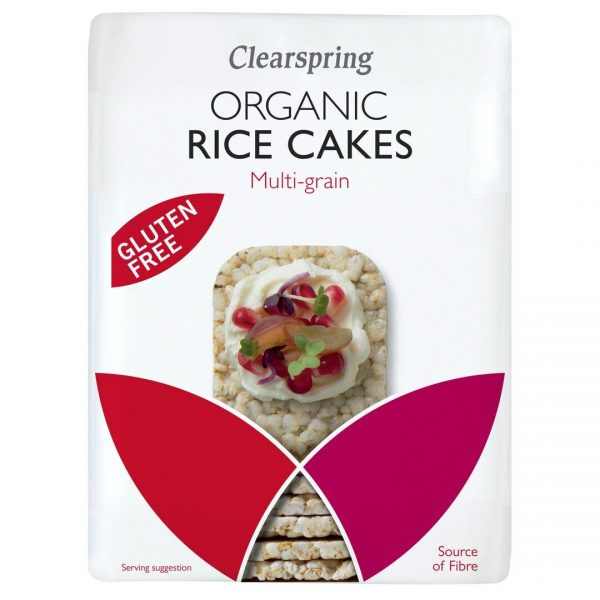 Clear Spring Organic Rice Cakes – Multi-Grains 130g