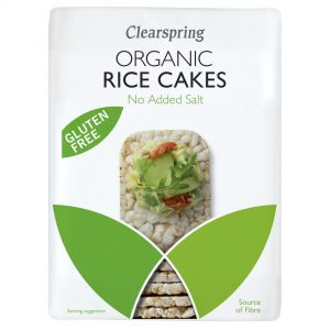 Clear Spring Organic Rice Cakes – No Added Salt 130g