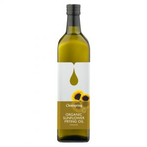 Clear Spring Organic Sunflower Frying Oil 1L