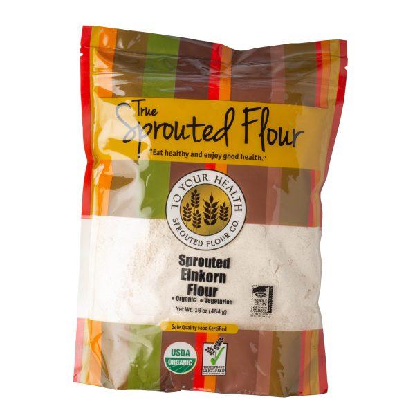 Tyh Organic Sprouted Einkorn Flour 16 Oz