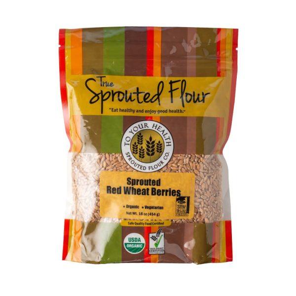 Tyh Organic SprouRed Wheat Berries 16 Oz