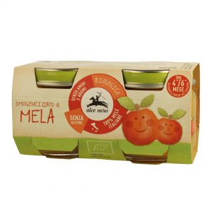 Alce Nero BF160ME Organic Baby food apple puree 160g