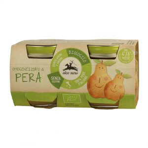 Alce Nero BF160PE Organic Baby food pear puree 160g