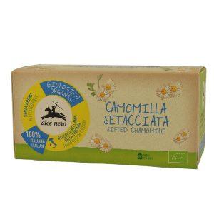 Alce Nero CA030 Organic chamomile tea bags 30g