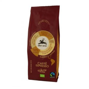Alce Nero CF250ES Organic Fairtrade Arabica coffee Espresso 250g