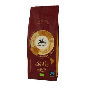 Alce Nero CF250ES Organic Fairtrade Arabica coffee Espresso 250g