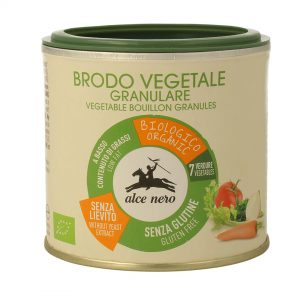 Alce Nero DA851 Organic GF Vegetable Bouillon Granules 120 g