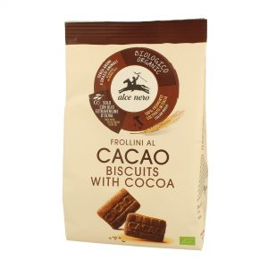Alce Nero FR236 Frollini Organic Biscuit With Cacao 250 g