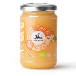 Alce Nero MI402 Organic Citrus Fruits Honey 400g