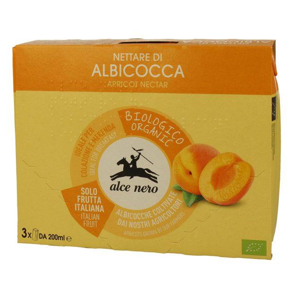 Alce Nero NT816  Organic Apricot Nectar Drink 3into 200ml